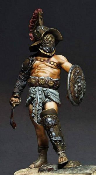 Roman Gladiator - 02 Art Print