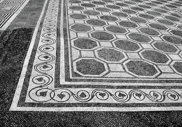 Wall Art - Photograph - Roman Mosaic - Ruins Of Empuries by Nikolyn McDonald