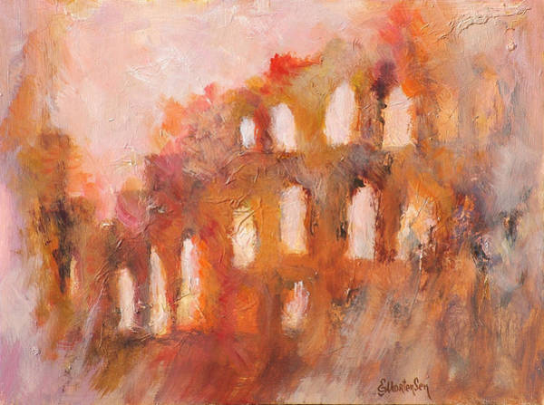 Wall Art - Painting - Roman Relicts 3 by Ekaterina Mortensen