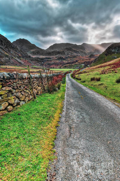 Welsh Photograph - Roman Road Snowdonia by Adrian Evans