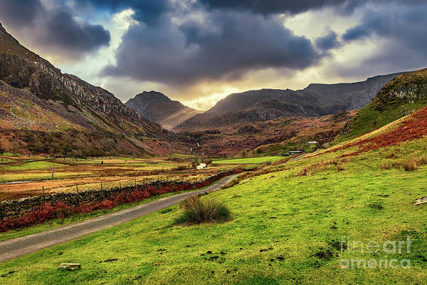 Wall Art - Photograph - Roman Road To Snowdonia by Adrian Evans