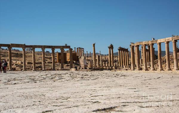 Photograph - Roman Ruins At Ajloun by Mae Wertz