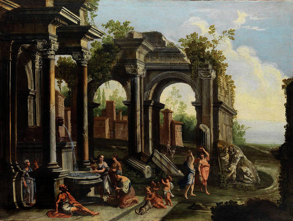 Collapse Painting - Roman Ruins by Giovanni Ghisolfi