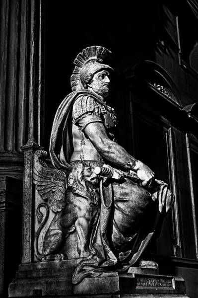 Photograph - Roman Soldier In Nyc. No1 by Val Black Russian Tourchin