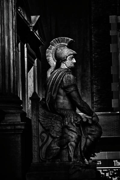 Photograph - Roman Soldier In Nyc. No10 by Val Black Russian Tourchin
