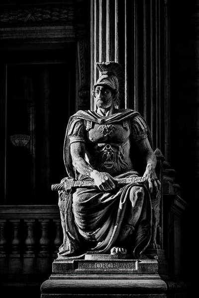 Photograph - Roman Soldier In Nyc. No2 by Val Black Russian Tourchin