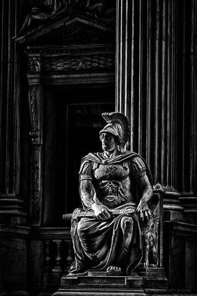 Photograph - Roman Soldier In Nyc. No4 by Val Black Russian Tourchin