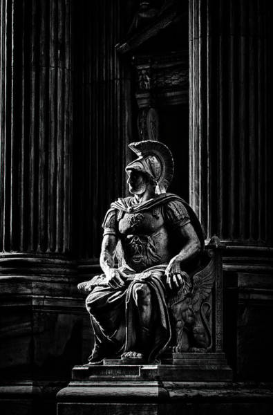 Photograph - Roman Soldier In Nyc. No5 by Val Black Russian Tourchin