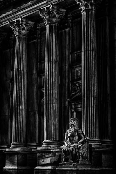 Photograph - Roman Soldier In Nyc. No7 by Val Black Russian Tourchin