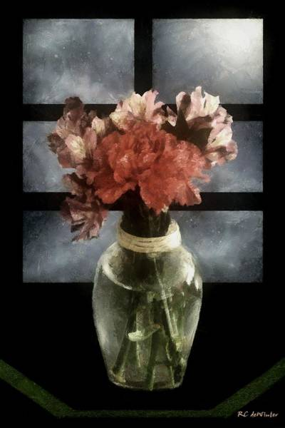Painting - Romance In Danish Modern by RC DeWinter
