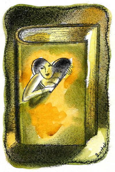 Phantasy Wall Art - Painting - Romance by Leon Zernitsky