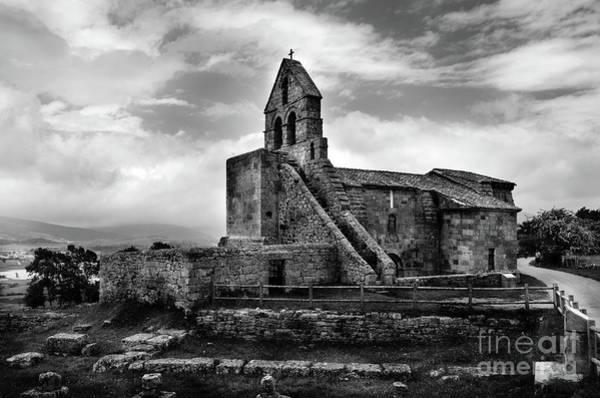 Photograph - Romanesque Church Of Santa Maria De Retortillo Bw by RicardMN Photography