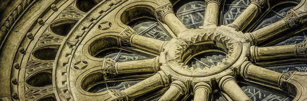 Cathedral Photograph - Romanesque Wheel by Scott Norris