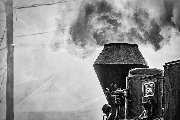 Photograph - Romanian Steam Train #2 by Stuart Litoff