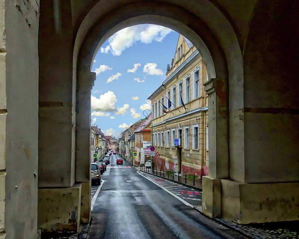 Photograph - Romanian Village View by Anthony Dezenzio