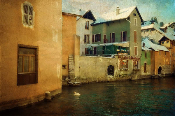 Photograph - Romantic Annecy by Jenny Rainbow