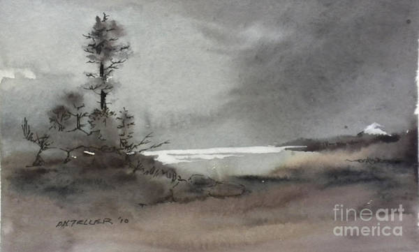 Painting - Romantic Landscape by Douglas Teller