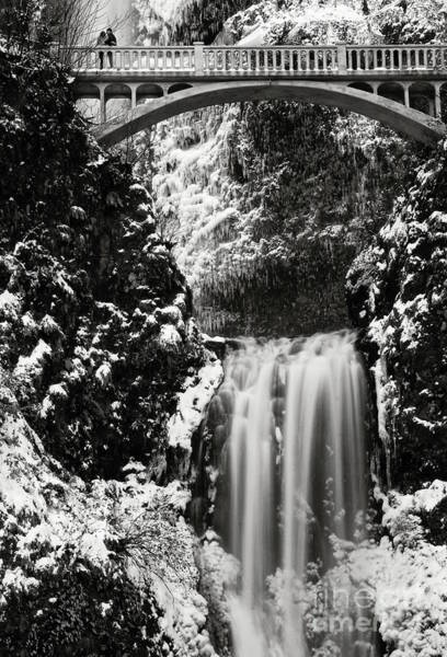 Photograph - Romantic Moments At The Falls by Sal Ahmed