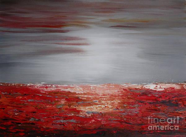Painting - Romantic Sea by Preethi Mathialagan