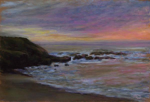 Pastel - Romantic Shore by Susan Jenkins