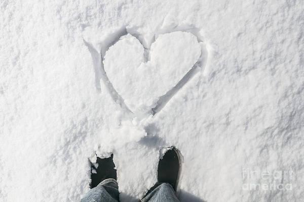 Wall Art - Photograph - Romantic Snow Vacation by Jorgo Photography - Wall Art Gallery