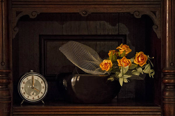 Photograph - Romantic Still Life by Raffaella Lunelli