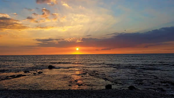 Photograph - Romantic Sunset by Pamela Walton