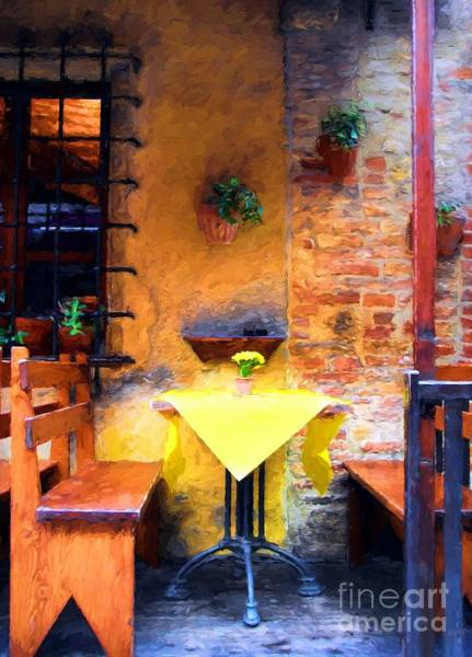 Photograph - Romantic Table For Two  by Mel Steinhauer