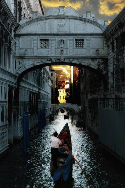 Photograph - Romantic Venice by Harry Spitz