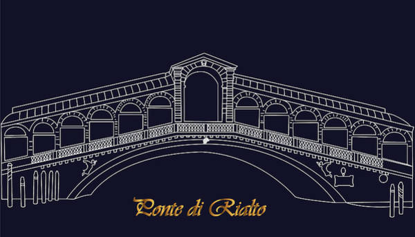 Digital Art - Romantic Venice by Marina Usmanskaya
