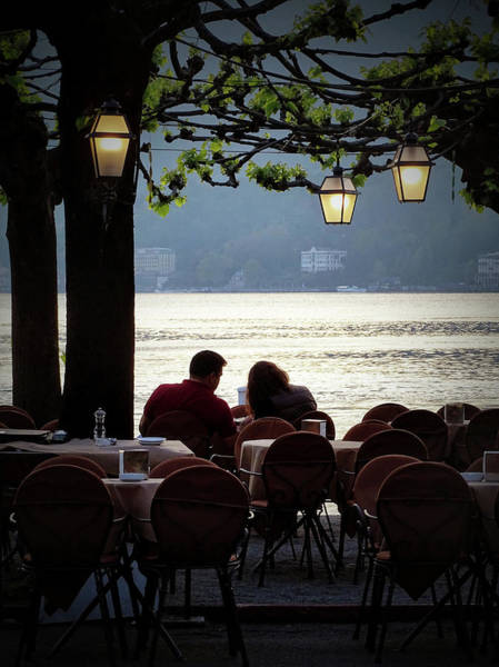 Tramonto Photograph - Romantico Tramonto by John A Royston
