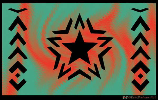 Digital Art - Romare Bearden Star by Eric Edelman
