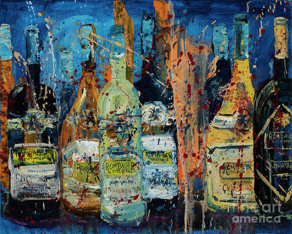 Impressionistic Vineyard Wall Art - Painting - Rombauer Vineyards by Jodi Monahan