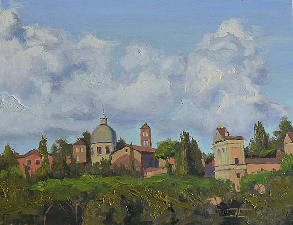 Painting - Rome Afternoon by Jan Christiansen