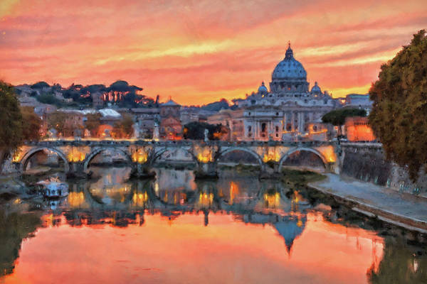 Rome And The Vatican City - 01  Art Print