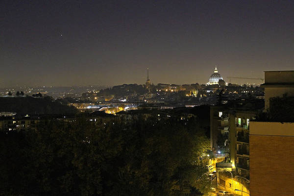 Photograph - Rome At Night by Tony Murtagh