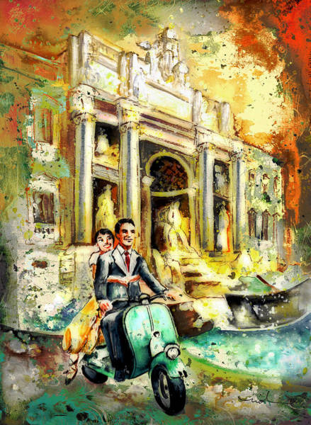 Painting - Rome Authentic Madness by Miki De Goodaboom