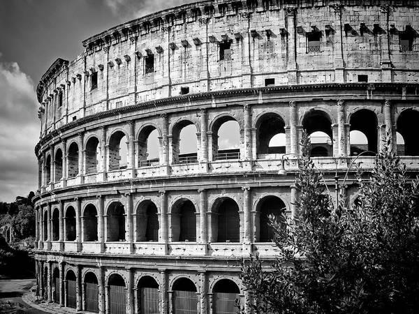 Coliseum Photograph - Rome Colosseum by Melanie Viola