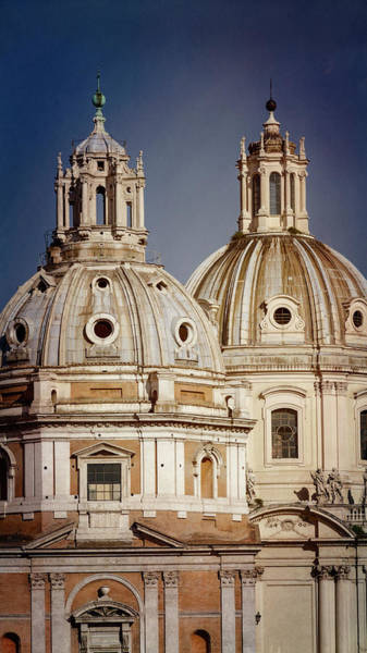 Photograph - Rome Domes by Joan Carroll