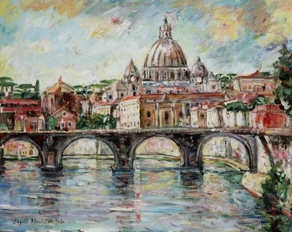 Painting - Rome by Ingrid Dohm