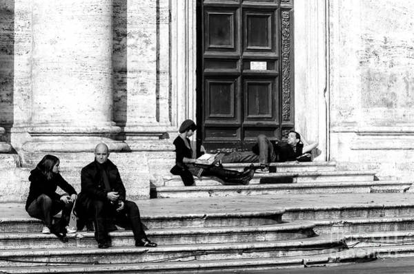 Photograph - Rome Lazy Day by John Rizzuto