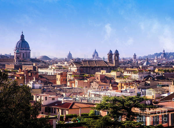 Photograph - Rome Skyline by Scott Kemper