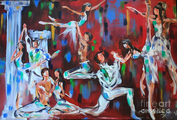 Painting - Romeo And Juliet by Lisa Owen-Lynch