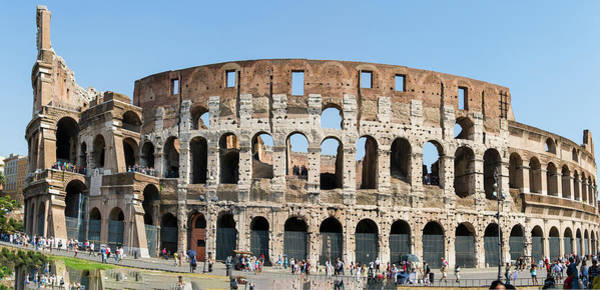 Photograph - Rome's Colosseum by Richard Henne