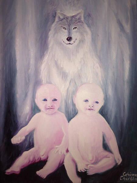 Romulus And Remus Painting - Romulus And Remus by Chirila Corina