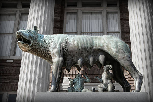 Photograph - Romulus And Remus by Patricia Montgomery