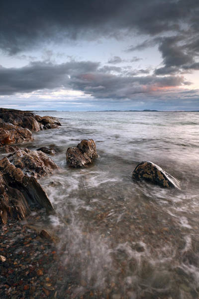 Photograph - Ronachan Rocks by Grant Glendinning