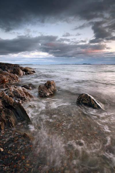 Southend Photograph - Ronachan Rocks by Grant Glendinning