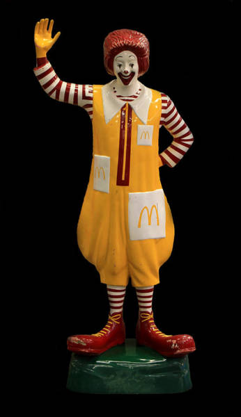Photograph - Ronald Mcdonald by Andrew Fare