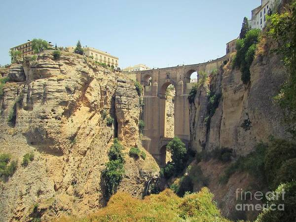 Wall Art - Photograph - Ronda by Julie Pacheco-Toye